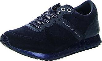 72fb47d69d9bd8 Tommy Hilfiger Damen S1285EVILLA 2C1 Sneaker Blau (Midnight) 37 EU