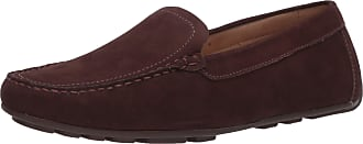 Driver Club USA Womens Leather Made in Brazil Driving Loafer with Venetian Detail, Brown Nubuck/Natural Sole, 5.5 UK