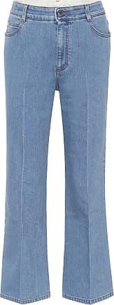 Stella McCartney Cropped wide-leg jeans