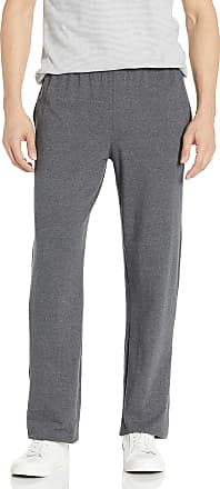 Hanes mensO5627X-temp Jersey Pant Pants - Gray - Large
