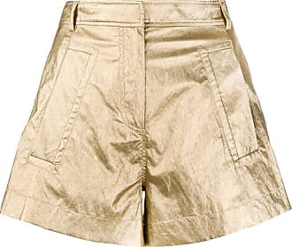 Philosophy di Lorenzo Serafini metallic shorts - GOLD