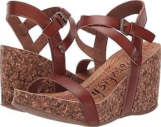 f0be014622a Blowfish Hirosha (Scotch Dyecut PU) Womens Wedge Shoes