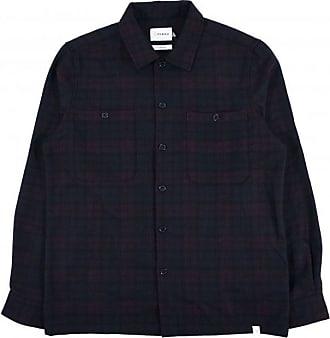 Farah Blackmore Wool Overshirt - Farah Rot - xlarge