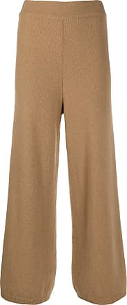 Opening Ceremony knitted flared high-waisted trousers - Brown