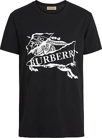 Burberry collage logo print T-shirt - Black