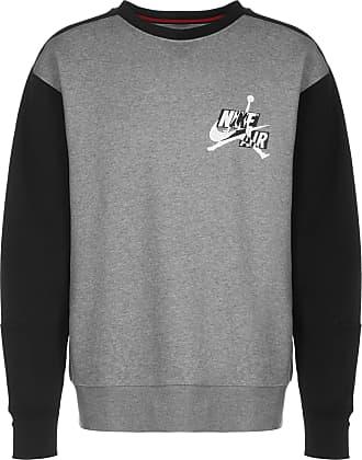Nike Jordan Sweatshirt Jumpman Classic Fleece Crew schwarz / grau / weiß