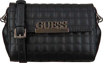 Guess Schwarze Guess Handtasche Matrix Cnvrtble Xbody Belt Bag