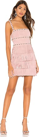X by NBD Dusty Suede Mini Dress in Pink