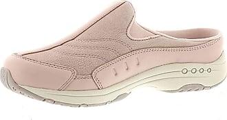 Easy Spirit Womens Traveltime Leather Low Top Slip On, Rose-Smoke-Pink, Size 9.0 US / 7 UK US