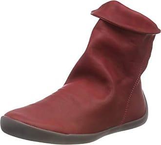 bc4b4fc7a8e4b0 Softinos Damen NAT332SOF Washed Leather Stiefel
