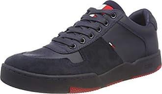 Denim Sneaker Hilfiger Bleu 006 Sneakers EU Tommy Basket Basses 46 Jeans Ink Homme w514qIBxEA