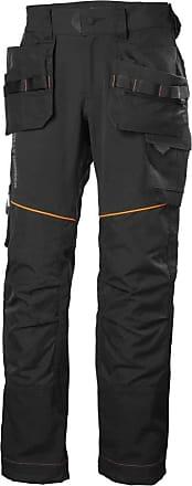 Helly Hansen Bosses Pants, Black, C56-Waist 39.5, Inside Leg 33.5