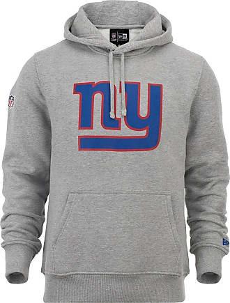 New Era NFL Team Logo New York Giants NEYGIA Hoodie - Heather Grey - Grey - XXXX-Large