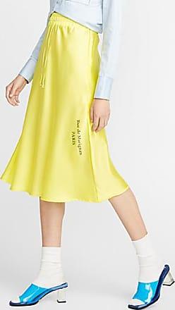 Icone Neon satin skirt
