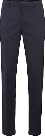 BOSS Slim-fit chinos in lightly structured stretch cotton