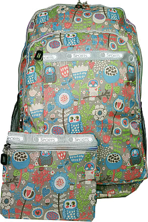 GFM Colourful Rucksack Backpack A4 FOLDERS School For Boys and Girls (Style 1-6215-FOL-BH), L,.Style 1 - Owl (Fol-bh)