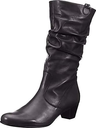 1c5a7b7ca5f726 Gabor Shoes Damen Comfort Basic Hohe Stiefel Schwarz (Micro) 57