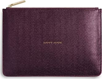 Katie Loxton Perfect Pouch - Happy Hour, Shiny Burgundy, One