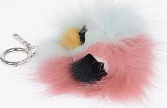 Fendi real fur keyring size Unica