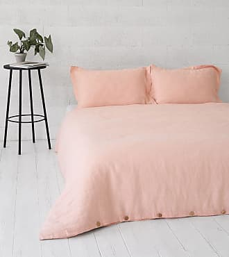 Dreamon Flax Bedding Set Peach