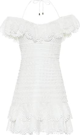 Zimmermann Super Eight linen-blend minidress