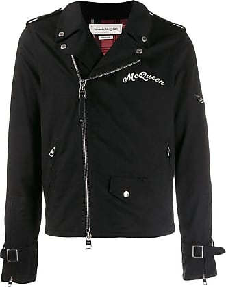 122e8e932 Alexander McQueen Leather Jackets for Men: Browse 7+ Items | Stylight