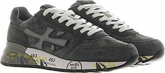 Premiata Sneakers in suede traforato grigio 40