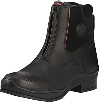 Ariat Mens Extreme Zip Paddock Waterproof Insulated Boots in Black Leather, D Medium Width, Size 10.5, by Ariat