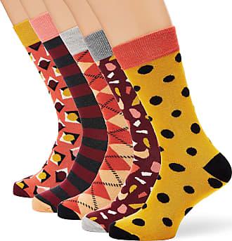 Happy Socks Mens HS Stone 5-Pack Socks, Multicolour (Multicolour 450), 7-10 (Size:41-46)