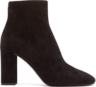 Nicholas Kirkwood Essential Mirrored-heel Suede Ankle Boots - Womens - Black