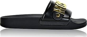 Moschino Couture! MA28032 Womens Slippers Black Size: 4 UK
