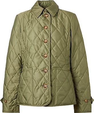 Burberry Jaqueta matelassê termorregulada - Verde