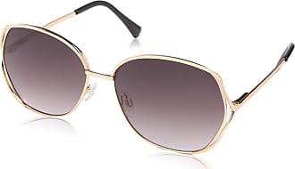 Vince Camuto Womens Vc834 Rgox Non-Polarized Iridium Rectangular Sunglasses, Rose Gold, 60 mm