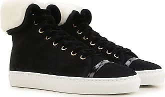 Lanvin Sneakers for Women On Sale in Outlet, Black, Suede leather, 2019, 3.5 5.5 6.5 7.5
