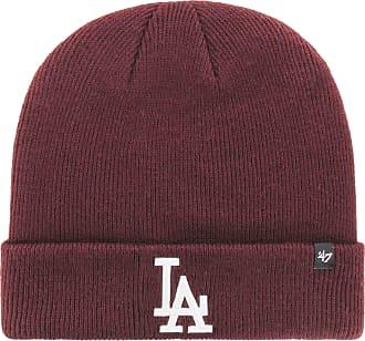 47 Brand Knit Beanie - Cuff Los Angeles Dodgers maroon