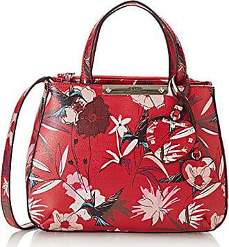 97661ab137 Guess Hwff6693050, Sacs portés main femme, Rosso (Red Floral), 12x22.