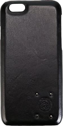 Diesel Capa para iPhone 6/6S de couro - Preto