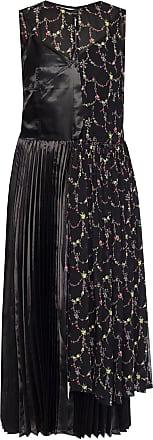 Junya Watanabe Junya Watanabe Comme Des Garcons Patterned Sleeveless Dress Womens Black