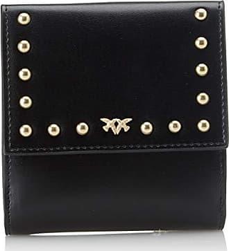 f2b9f98d9359 Pinko 1P216YY4YM, porte-monnaie femme - Noir - Noir (Nero Limousine Z99)