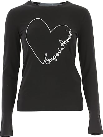 17d026f3799cd T-Shirts Giorgio Armani pour Femmes - Soldes   jusqu  à −70%   Stylight