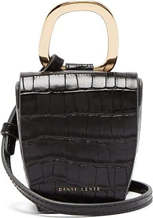Danse Lente Pablo Crocodile-effect Leather Cross-body Bag - Womens - Black