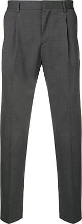 Entre Amis slim-fit tailored trousers - Cinza