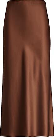Joseph Frances Silk Satin Skirt