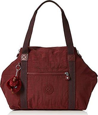5997b14317 Kipling Art - Borse a secchiello Donna, Marrone (Burnt Carmine C), 20x44x27