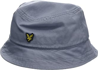 ddb29cf2 Lyle & Scott Menss Washed Twill Bucket Hat Cloud Blue Z, One (Size: