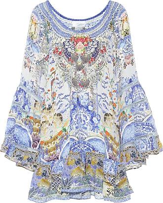 Camilla Printed silk dress