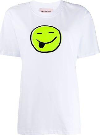 Natasha Zinko T-shirt con stampa - Di colore bianco