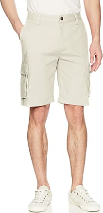 Nautica Unisex-Adult Mens-Classic Twill Cargo Shorts Casual Shorts - White - 38