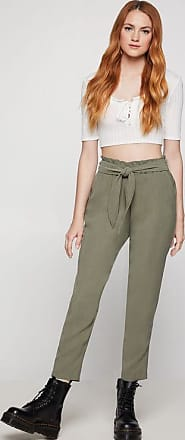 BCBGeneration Front-Tie Shirred Pant