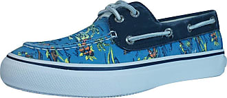 Sperry Top-Sider Bahama 2 Eye Hawaii Mens Boat/Deck Shoes-Blue-8.5